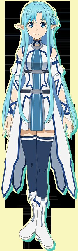 Sword Art Online:Asuna+Yui Kawaiii ALO Render | ORS Anime